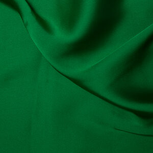 Emerald (silk satin)