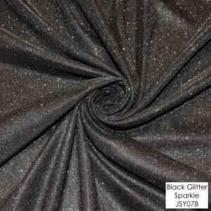 Black Glitter Sparkle - JSY078 (+£25)
