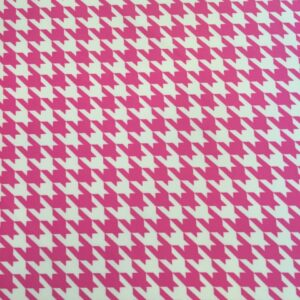 Pink Houndstooth (scuba)