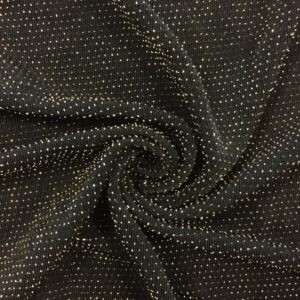 Black & Gold (slinky sparkle) - JSY035