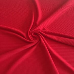 Red (ribbed jersey)